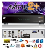 Galaxy Innovations AVATAR2 TWIN - Receptor Sat�lite HD Twin Tuner Linux, Spark, Opera, Picasa, Super IPTV, 3G, Divx, AVI, WMV, MKV, y muchos m�s.