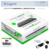 EN1008 ENGELDROID Receptor Sat�lite y Android - EN1008 ENGELDROID SAT, un producto revolucionario que combina lo mejor del entorno internet de EngelDroid con lo m�s destacado del sat�lite RS4800.