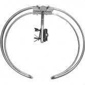 Antena FM  circular Ekselans - Antena FM (87,5 - 108 MHz) circular omnidireccional con conector F. G: 1dB