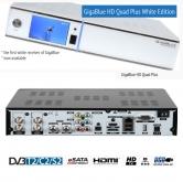 Gigablue QUAD PLUS HD Twin/Combo 2 Tuner SAT PVR White Edition - Gigablue QUAD el receptor Linux mas potente del mercado con procesador de 1.3 Ghz dispone de 2 tuners Satelite internos en HD.