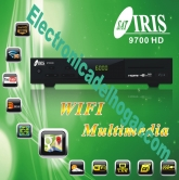 IRIS 9700HD - Receptor IRIS 9700 HD con Men�s estilo W8. Ahora mas potente con nuevo chipset 2511, m�s canales y m�s contenidos.