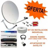 Pack Bware RX8900 + Kit 60cm + Apuntador sat�lite