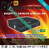 Gi PHOENIX HD MINI - Receptor Sat�lite con Procesador dual Core y aplicaciones de Internet: YouTube, WeatherForecast, GoogleMaps, RSS, KartinaTV, WebTV, DLNA, Big2Small ...