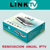 Renovaci�n 12 meses canales IPTV LINKTV - Renovaci�n 12 meses de los canales internacionales IPTV del receptor LINKTV.