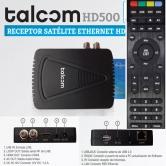 TALCOM HD 500 Wifi - El hermano peque�o de Cristor con todas sus prestaciones IKS. Cable HDMI incluido.