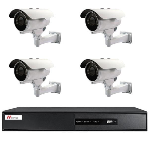 Kit videovigilancia 4 c maras con ir exterior - Camaras videovigilancia exterior ...