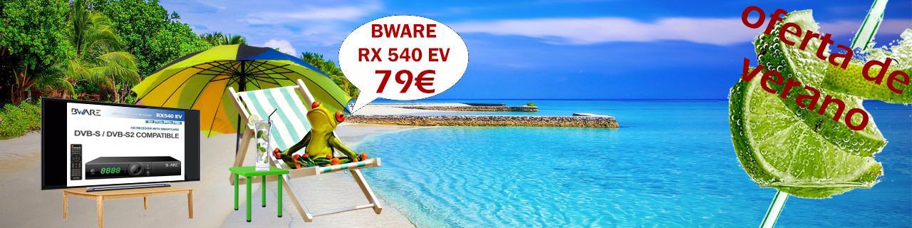 Oferta de verano del RX540EV