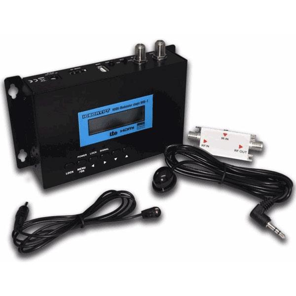 Modulador HD HDM100 HD con control IR para mando a distancia