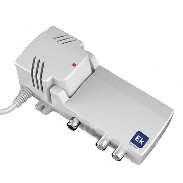 Amplificador Interior 1 entrada 2 salidas - AA20L - Amplificador de bajo consumo y distribuidor. Todo en Uno.