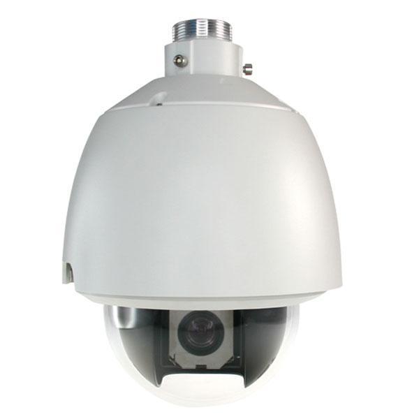 Domo Motorizado Color Zoom Óptico 23X Exterior - Cámara motorizada 150º/s 1/4