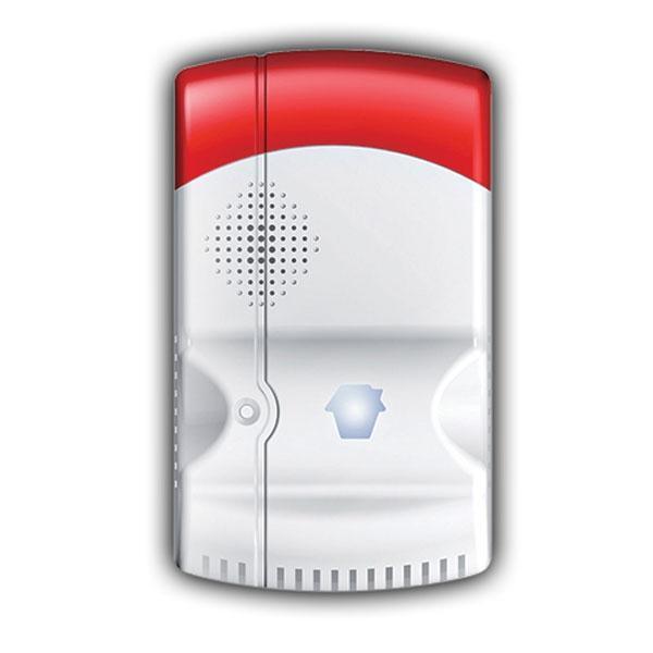 Detector de Gas GAS-88 para G5,G5 gsm,A9,A11 - Detector de fugas de gas Inalámbrico Antena interna Sirena incorporada Rango de detección 20 m² Alimentación AC 110~220 V