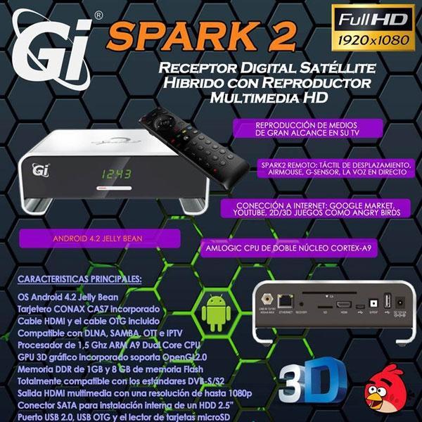 GI Spark2 Receptor Satélite