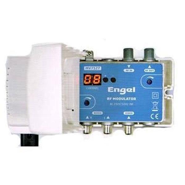 Modulador AV RF UHF + VHF Engel MV7127 - El Modulador MV7127 está destinado a los canales de televisión de B/D/N en el rango VHFI
