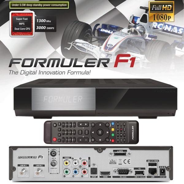 Formuler F1 HD - Formuler F1 HD receptor Linux Enigma E2 y Triple Tuner