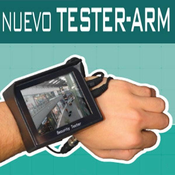 TESTER ARM Comprobador CCTV de vídeo y audio 3.5