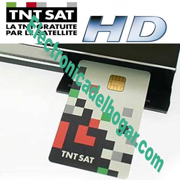 Tarjeta TNT SAT Canales Franceses 4 AÑOS - Tarjeta de Abono Oficial válida para todos los receptores de TNT SAT
