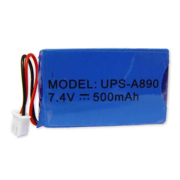 Batería de respaldo - Lítio - Recargable - 3.7 V - 800 mAh - - Batería de respaldo - Lítio - Recargable - 7.4 V - 500 mAh - Compatible  con WS-108