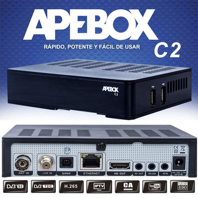 Apebox C2 Receptor Satélite HD