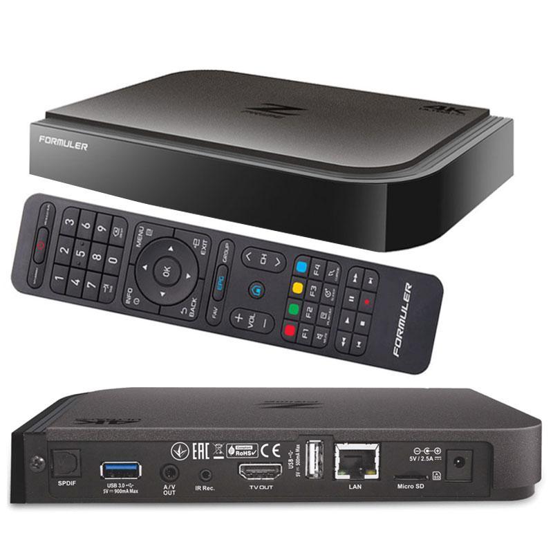 Formuler Z Prime IPTV UHD 4K