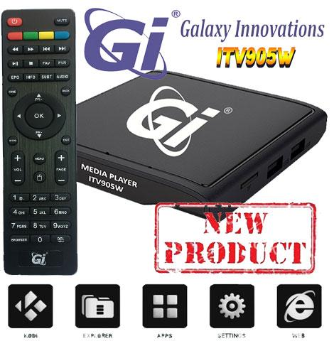 Receptor IPTV ANDROID GI ITV905W  - Receptor IPTV ANDROID GI ITV905W Amalogic S905W Quad-core ARM Cortex-A53 2.0GHz.