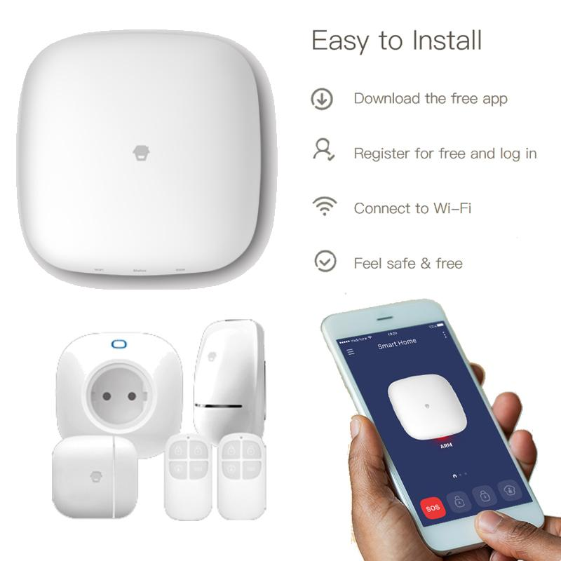 Sistema de alarma y Smart Home Wifi H4