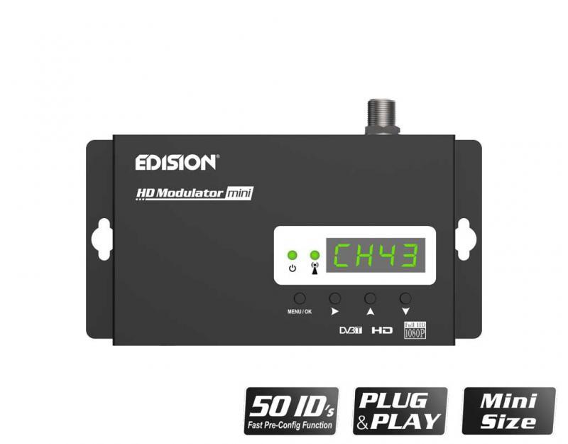 Modulador EDISION HDMI Mini