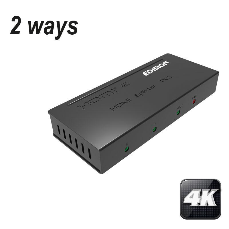 Splitter HDMI 4K 1x2 EDISION