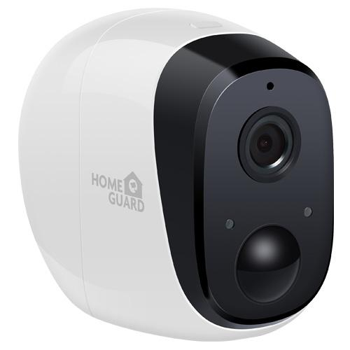 Cámara inteligente con sensor de movimiento y batería integrada - La cámara de seguridad inteligente HGAVC777 de Homeguard es un innovador producto de seguridad 100% libre de cables, WiFi, resistente a la intemperie, con audio, batería recargable y un ángulo de visión de 130°.