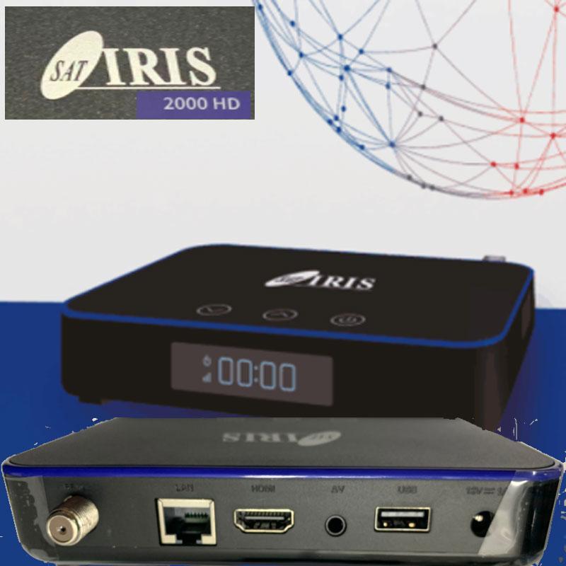 IRIS 2000 HD RECEPTOR SATÉLITE WIFI