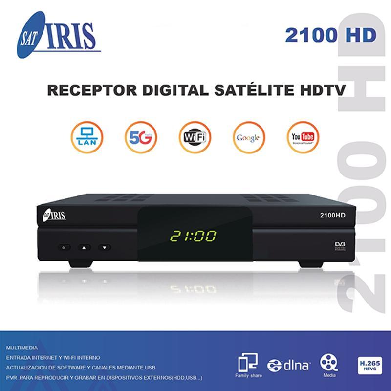 IRIS 2100 HD RECEPTOR SATÉLITE