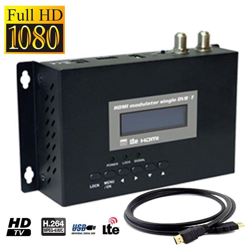 Modulador Full HD Filtro Lte Redline + Cable HDMI