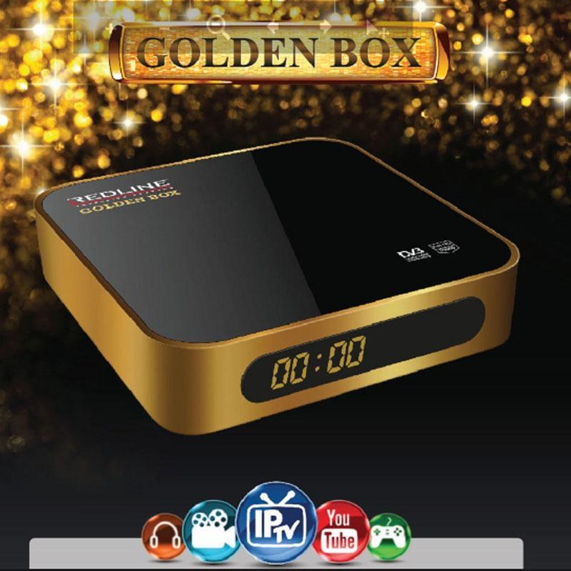 Redline GOLDEN BOX PLUS Receptor Satélite + 2 Mandos - Redline GOLDEN BOX PLUS HD receptor satélite con las máximas prestaciones para los más exigentes.