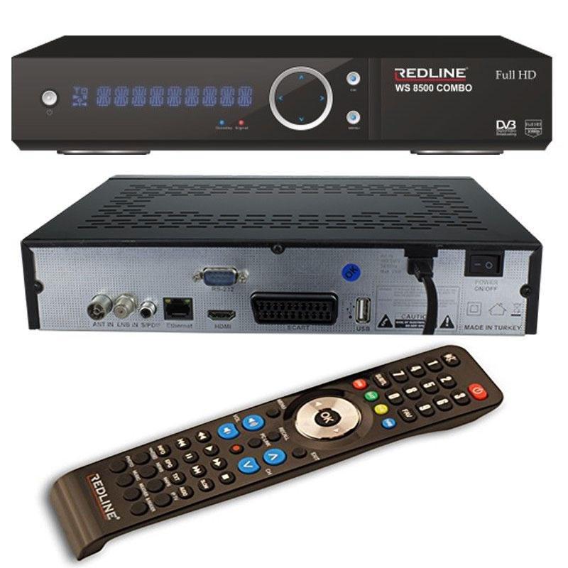Redline WS 8500 Combo HD WIFI Receptor Satélite + Cable HDMI