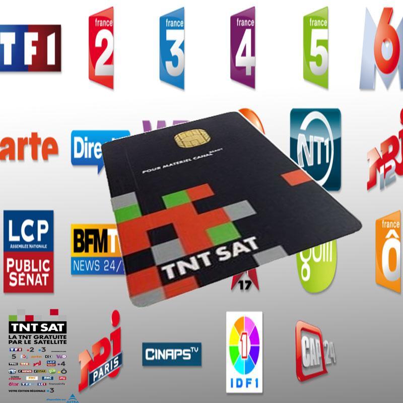 Tarjeta TNT SAT Canales Franceses 4 AÑOS