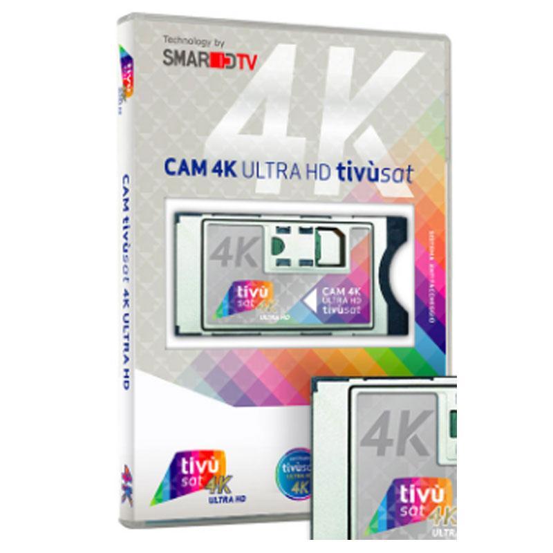 CAM tivùsat 4K ULTRA HD +Tarjeta Abono Televisión Italia