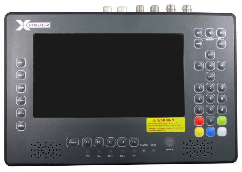Xfinder2 Medidor de Campo DVB-S2, T/T2 y C - XFINDER 2 NUEVA EVOLUCIÓN con analizador de espectro real. Medidor de fácil manejo y grandes prestaciones, preparado para la calibración de instalaciones TDT, Satélite y sistemas Unicable DVB-T2. El XFINFER es totalmente compatible con HDTV, tiene una gran pantalla de LCD de 7
